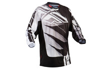 Fly Racing Kinect Inversion jersey Homme blanc/noir